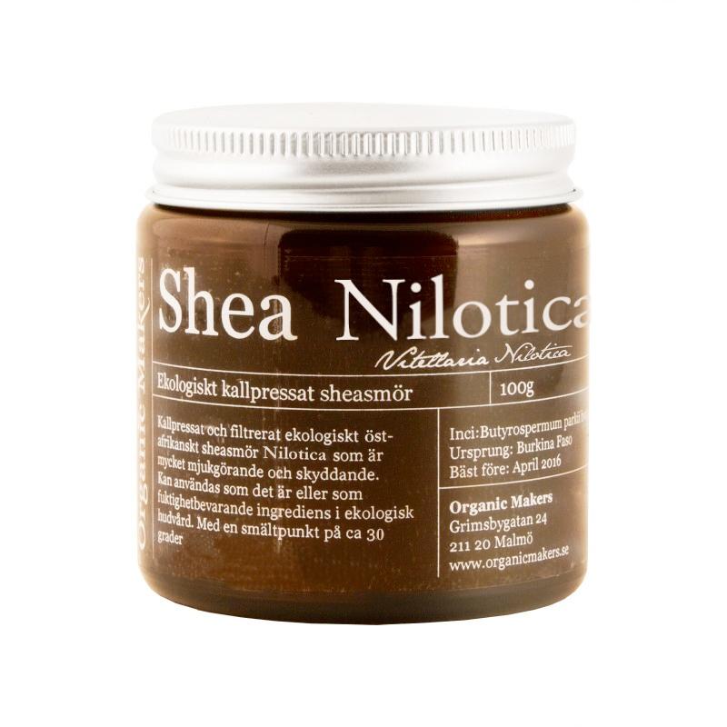 Köp ekologiskt sheasmör nilotica - organicmakers.se
