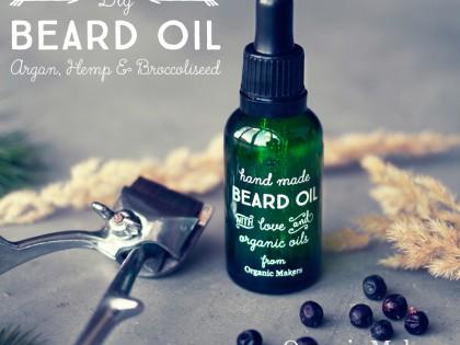 DIY Beardoil – ekologisk skäggolja med argan-, hampfrö- och broccolifröolja. Även en utmärkt hårolja!