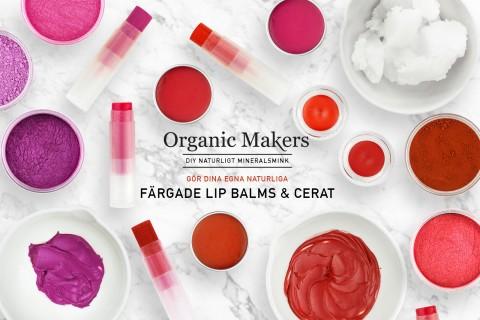 DIY färgade lipbalms & cerat - organicmakers.se