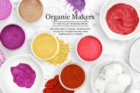 DIY mineralsmink, mica, mineraler och pigment - organicmakers.se
