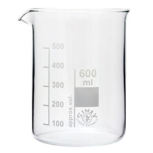 Glasbägare 600 ml