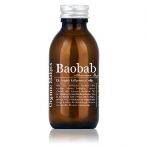 Baobabolja ekologisk kallpressad