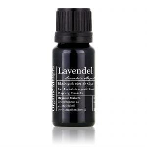 Eterisk olja Lavendel - Ekologisk