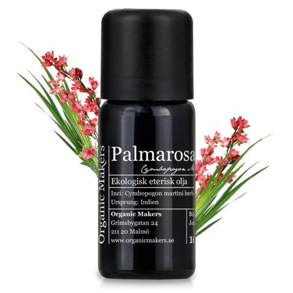 Eterisk olja Palmarosa - Ekologisk