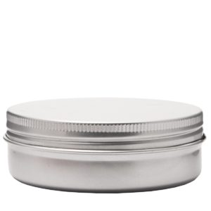 Aluminiumdosa 150 ml med skruvlock