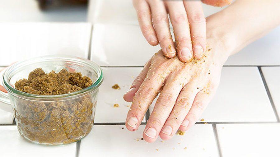 DIY handskrubb och fotskrubb - organicmakers.se