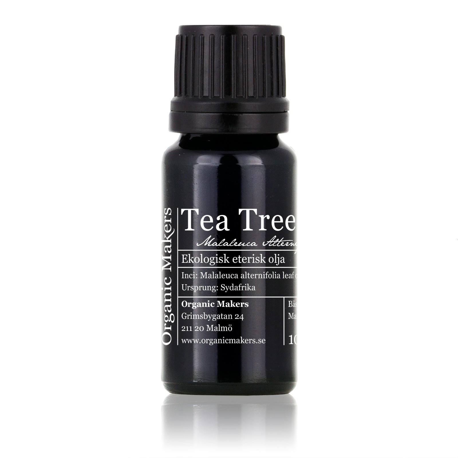 tea tree olja användning
