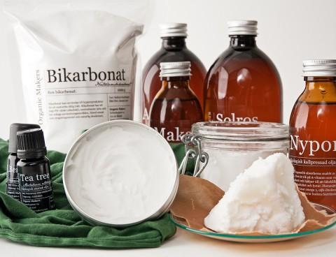 Gör din egen deodorant med bikarbonat och ekologiska oljor - organicmakers.se