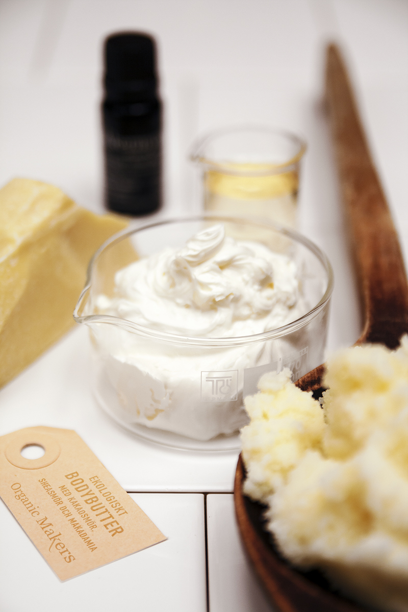 DIY Ekologiskt bodybutter mintchoklad - Organic Makers