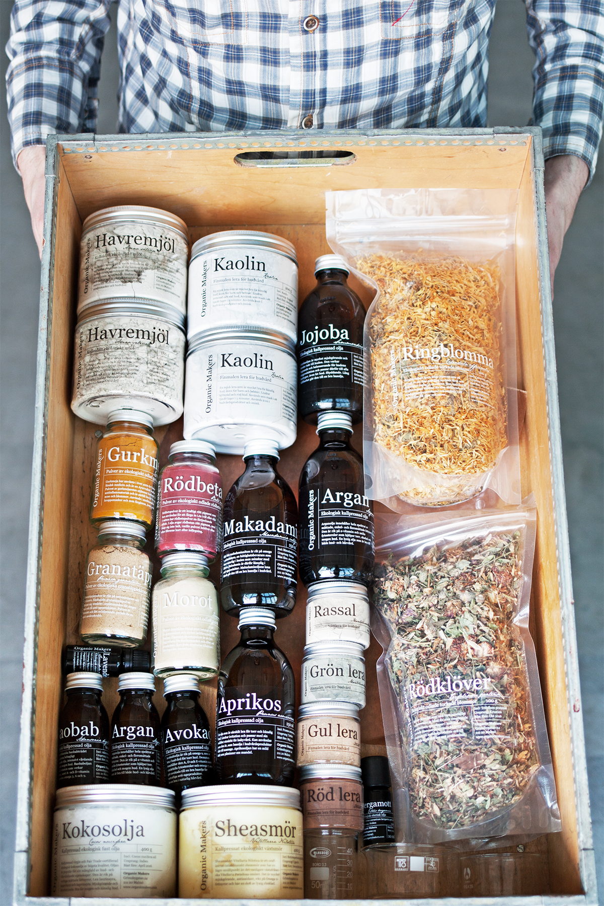 Organic Makers - råvaror för hudvård