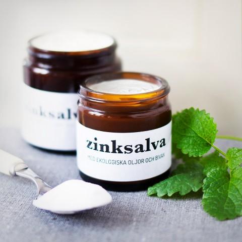 DIY - Zinksalva med ekologiska oljor och bivax - Organic Makers