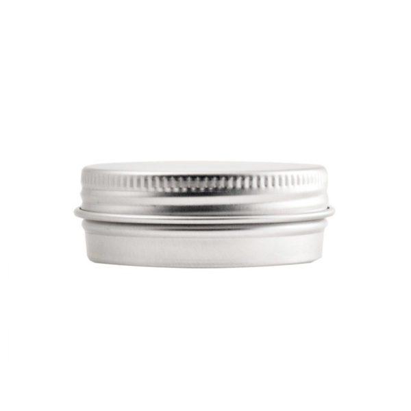 Aluminiumdosa 30 ml med skruvlock