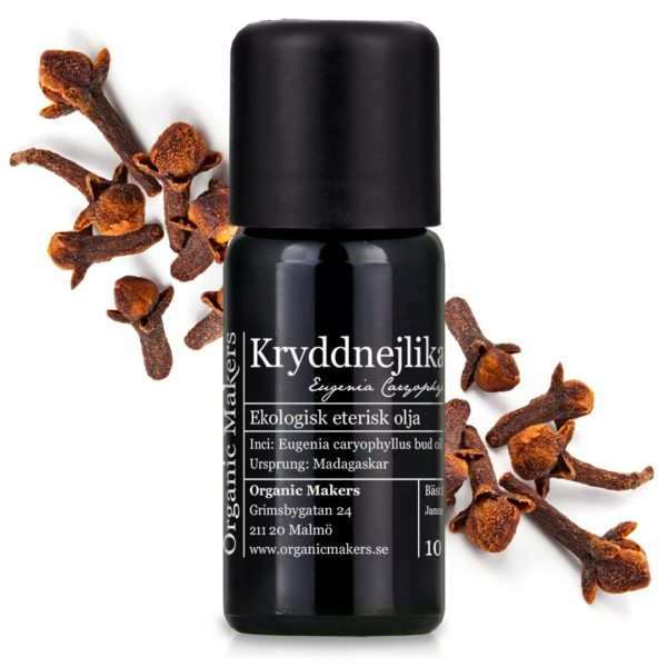 Eterisk olja Kryddnejlika - Ekologisk