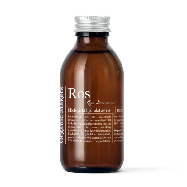Roshydrolat eko för hudvård - organicmakers.se