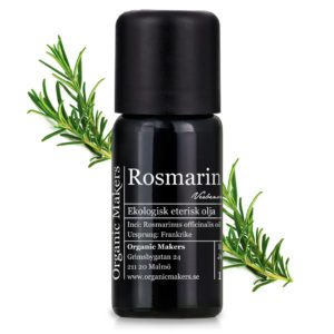 Eterisk olja Rosmarin - Ekologisk
