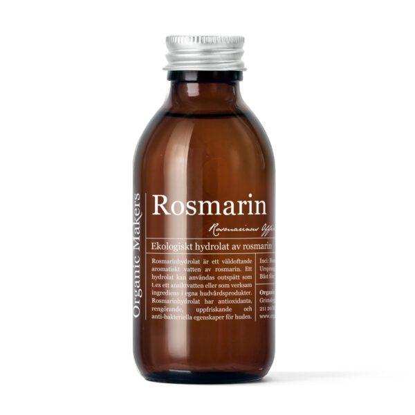 Rosmarinhydrolat eko för hudvård - organicmakers.se