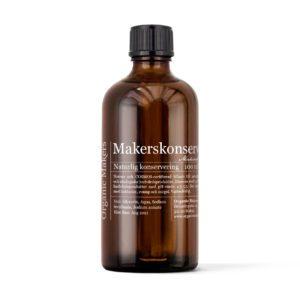 Makerskonservering naturlig konservering för hudvård - organicmakers.se