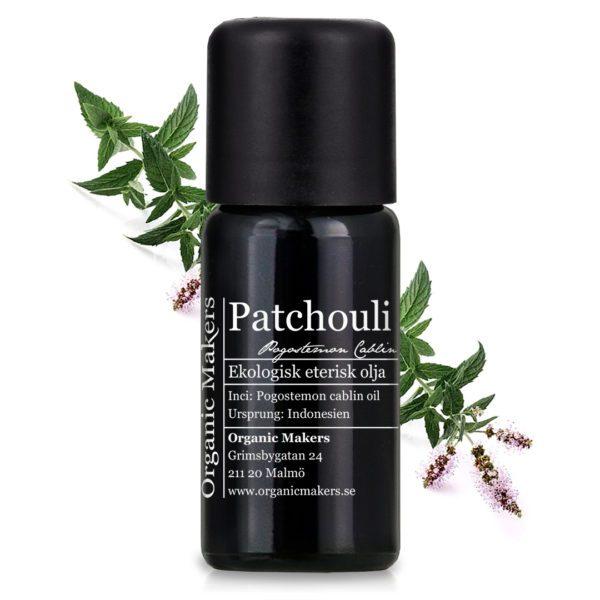 Eterisk olja Patchouli - Ekologisk