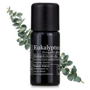 Eterisk olja Eukalyptus - Ekologisk