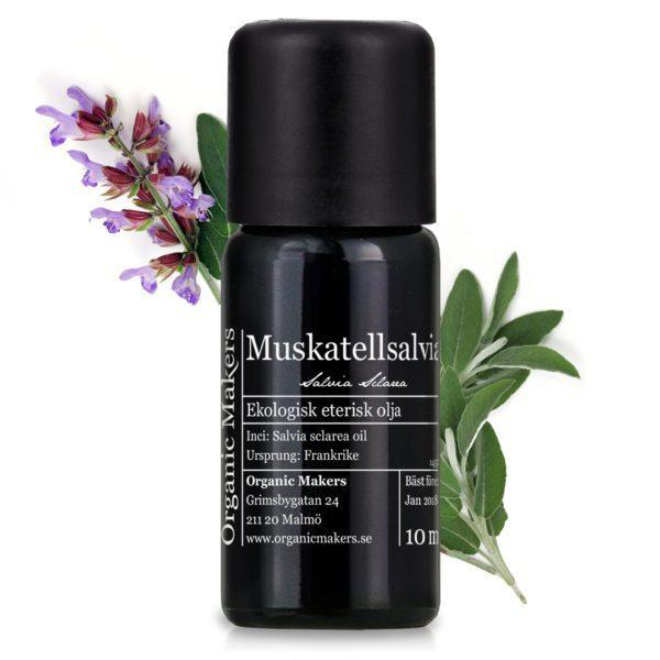 Eterisk olja Muskatellsalvia - Ekologisk