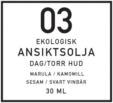 DIY Ansiktsolja för torr hud, dag - organicmakers.se
