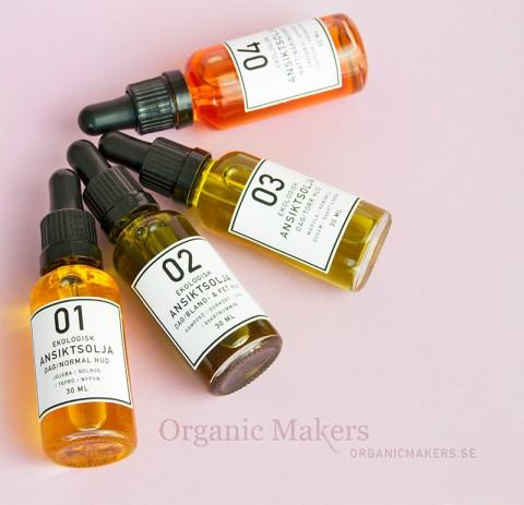 DIY ekologisk hudvård - Organic Makers receptblogg