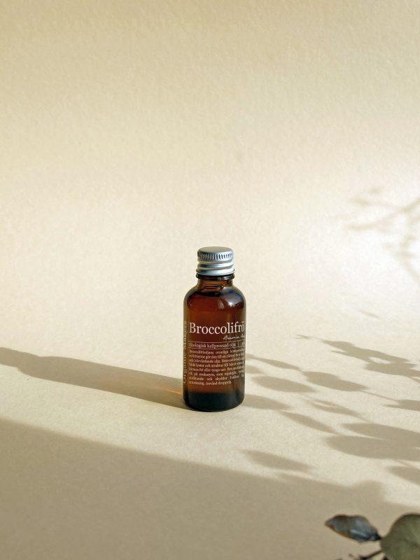 Broccolifröolja kallpressad ekologisk för DIY hudvård