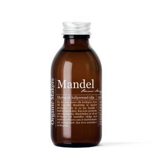 Mandelolja kallpressad ekologisk för DIY hudvård