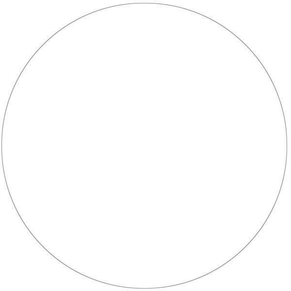 Etiketter vita, cirkel 63x63 mm