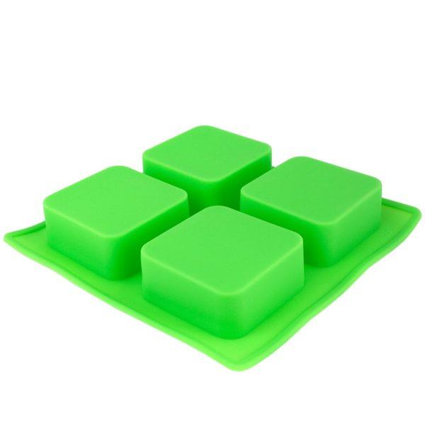Tvålform silikon grön