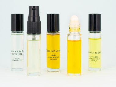 ekologisk parfym prov