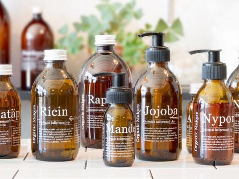 Ekologiska oljor för hudvård - organicmakers.se