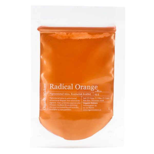 Radical Orange Mica