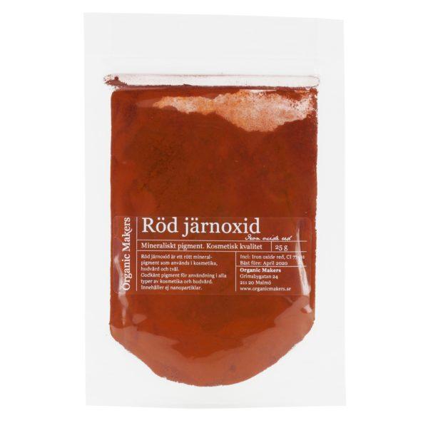 Röd järnoxid pigment