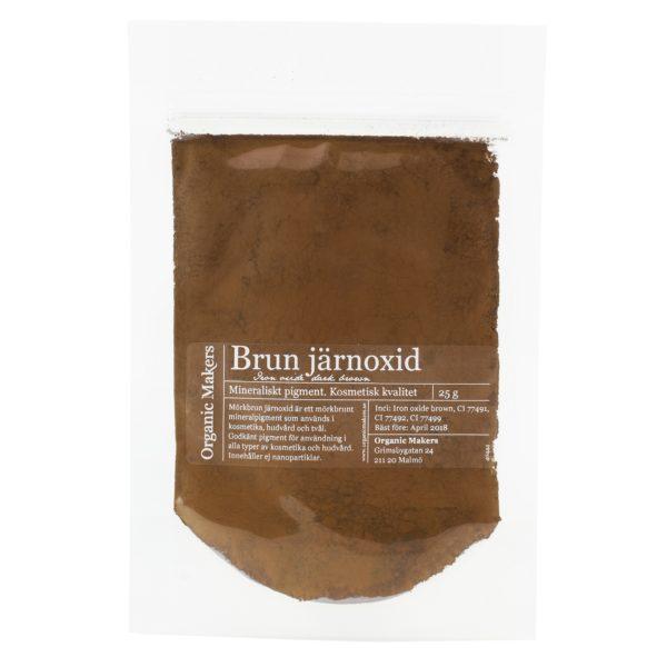 Brun järnoxid pigment