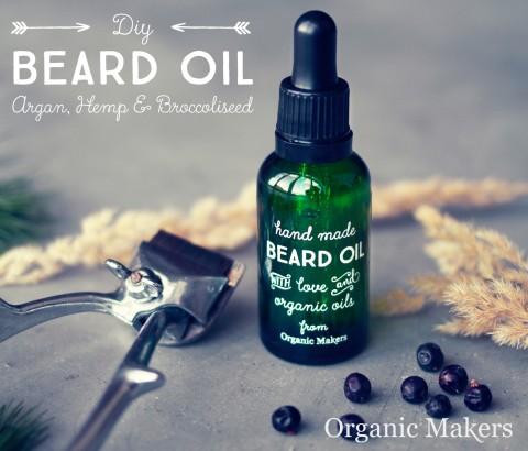 DIY  ekologisk skäggolja & hårolja - organicmakers.se