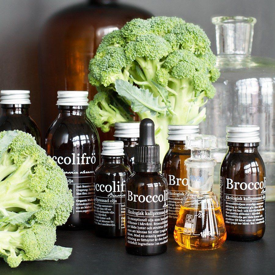 Broccolifröolja - organicmakers.se