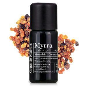 Eterisk olja Myrra - Ekologisk