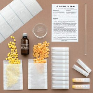 DIY kit lipbalms cerat läppbalsam - organicmakers.se