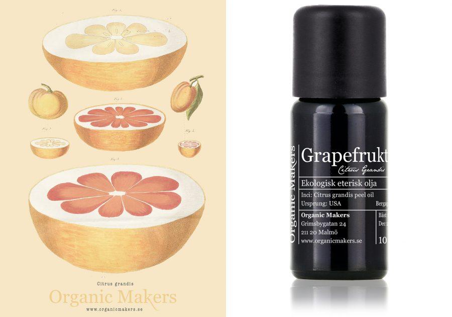 eterisk olja grapefrukt
