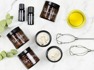 DIY Body Butter med sheasmör - organicmakers.se
