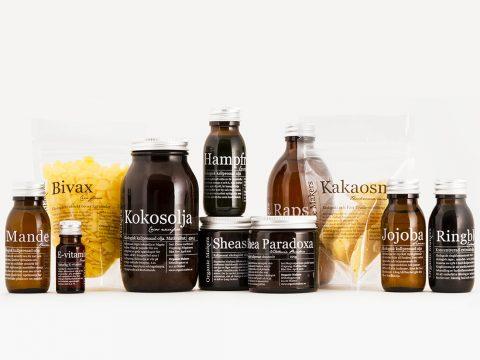 Startkit råvaror för hudvård - organicmakers.se