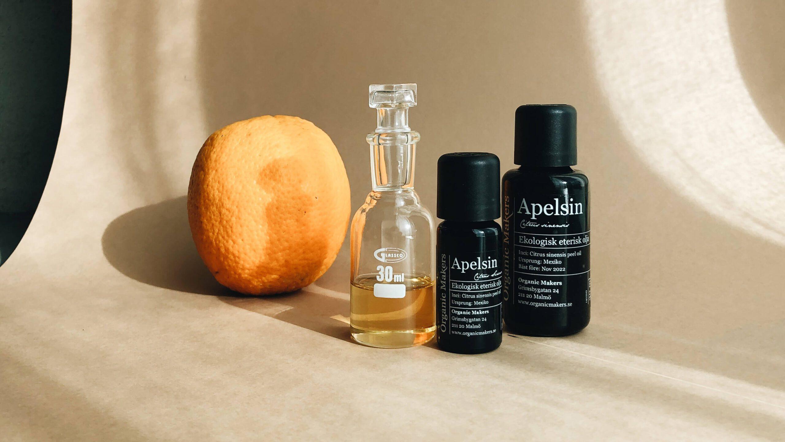 Eterisk olja apelsin - ekologisk - organicmakers.se