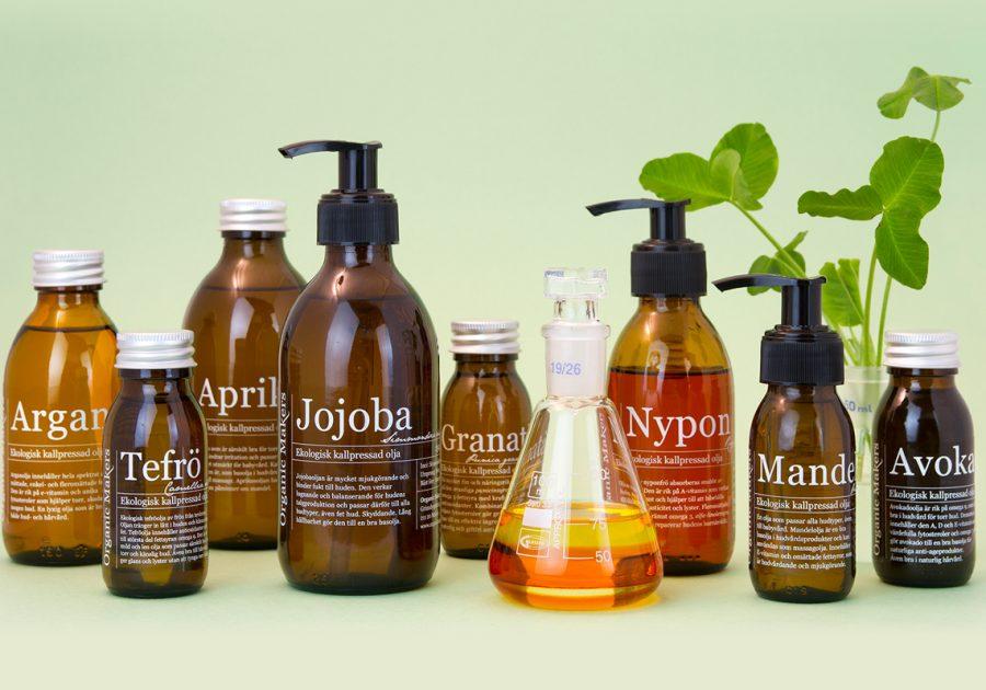 Ekologiska kallpressade oljor - Organic Makers