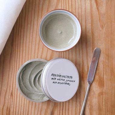 DIY rengöringspasta för ansiktet