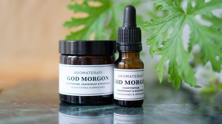 DIY - aromaterapi med ekologiska eteriska oljor