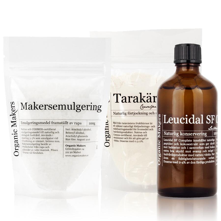 Emulgering & konservering för egentillverkad hudvård