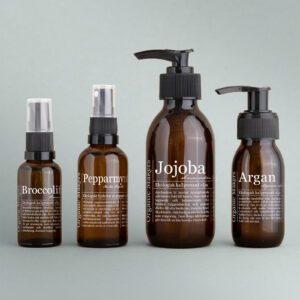 Oljor + hydrolatpaket för normal hud - organicmakers.se