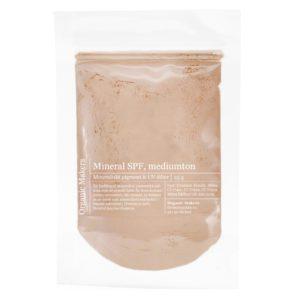 Hudfärgat pigment för foundations och mineralpuder i påse