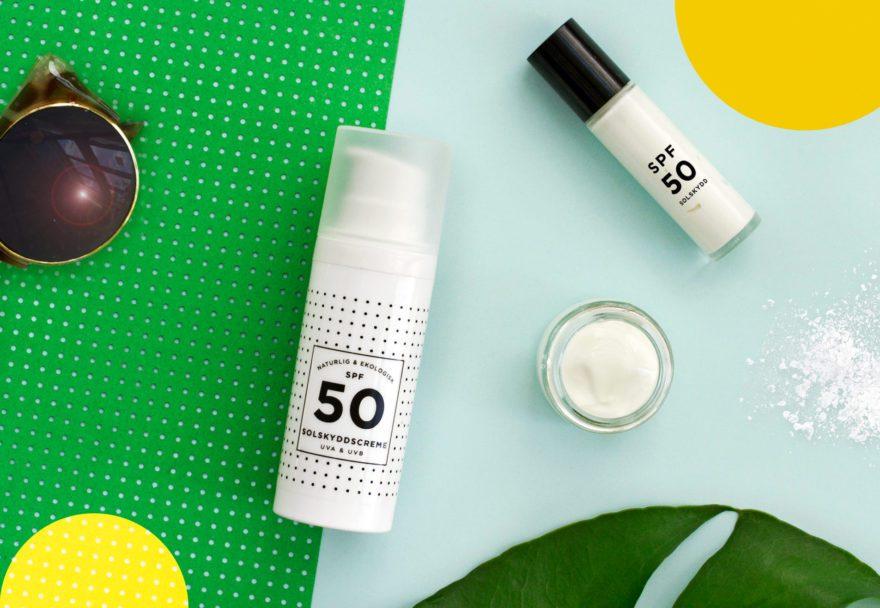 diy ekologisk solskyddscreme SPF 50